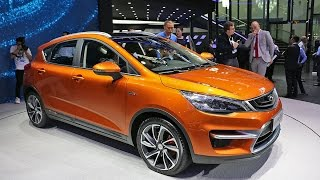 2016 Geely Emgrand GS (Cross) at Beijing Auto Show 2016