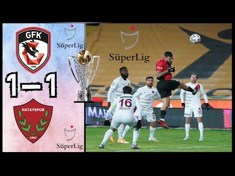 Gaziantep FK 1 - 1 Hatayspor | Maç Özeti | Süper Lig