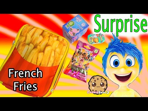 French Fries Toy Surprise – Shopkins Season 3, Disney Pixar Inside Out Funko Mystery Mini Blind Bags