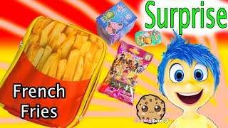 French Fries Toy Surprise - Shopkins Season 3, Disney Pixar Inside Out Funko Mystery Mini Blind Bags