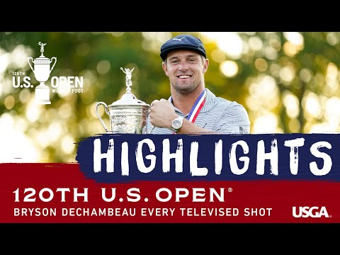 2020 U.S. Open: Every Televised Shot From DeChambeau's Victory
