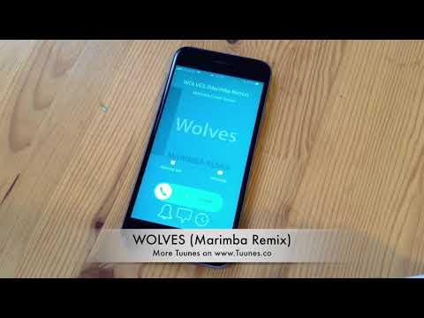 Wolves Ringtone - Selena Gomez & Marshmello Tribute Marimba Remix Ringtone - For iPhone & Android