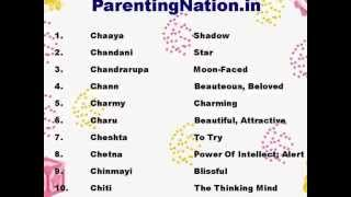 Meen Rashi Girl Name With Meanings