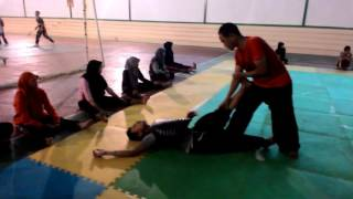 Latihan atleit PSHT TERATE 2016