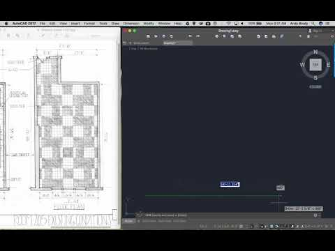 AutoCAD 3: Drawing a plan