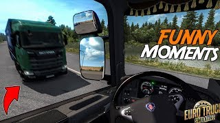 Euro Truck Simulator 2 Multiplayer Funny Moments & Crash Compilation #96