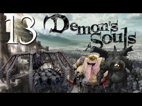 Demon's Souls - Soul Level 1. Pure Black World Tendency Events + Primeval Demons.