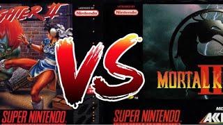 Street Fighter 2 vs Mortal Kombat 2