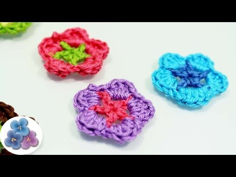 como hacer flores de crochet how to crochet a flower diy flores amigurumi ganchillo pintura facil