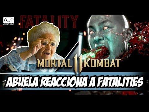 Mi Abuela Reacciona a los Fatalities de Mortal Kombat 11