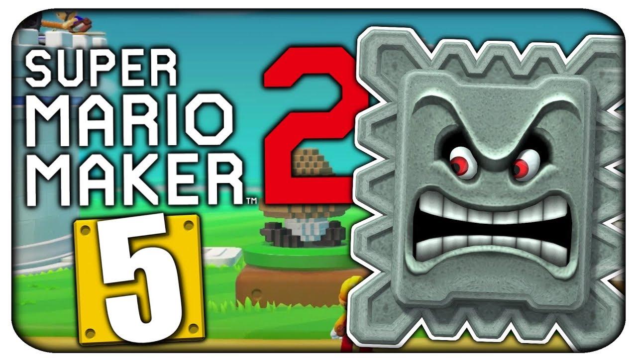 Let\'s Play SUPER MARIO MAKER 2 • Part 5:Über Stock und Stein