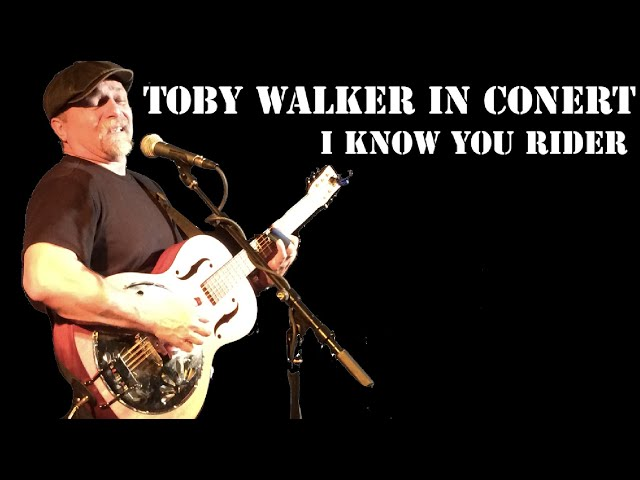 Toby Walker - I Know You Rider Live At The  Birchmere.mov