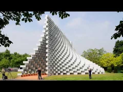 AJ BUILDING STUDY: Serpentine Pavilion by BIG