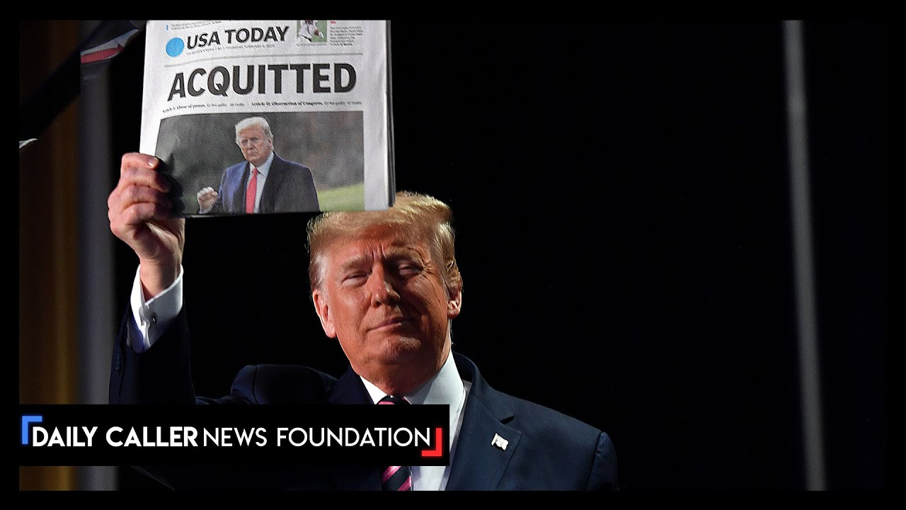 The Democrats Are Saying Trump Was Never Acquitted - DC Shorts