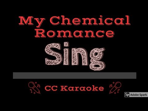 My Chemical Romance • Sing (CC) [Karaoke Instrumental Lyrics]