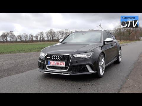 2014 Audi RS6 Avant (560hp) - DRIVE & SOUND (1080p) - YouTube