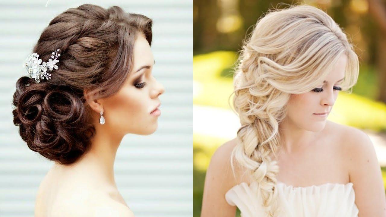 Peinados de novia recogidos de lado the - Peinados recogidos con trenzas ...