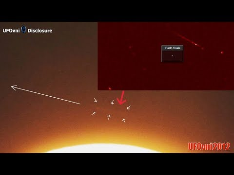 An Anomalous Object Passes Near The Sun At Enormous Speed ... A wormhole? (Telescope 4k)