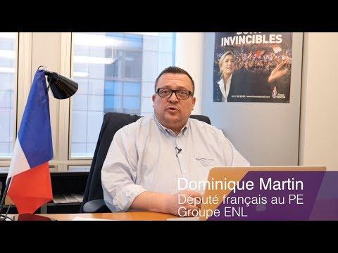 Portrait de Dominique Martin, député européen ENL