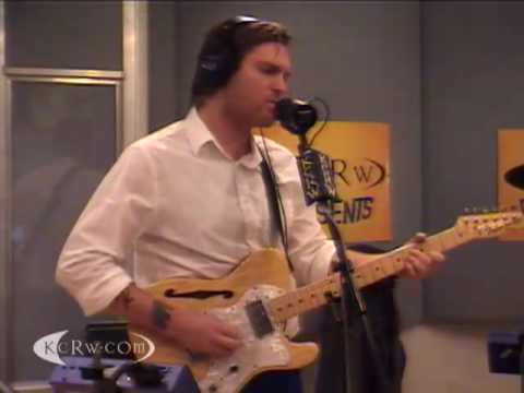 Cold War Kids performing Audience on KCRW