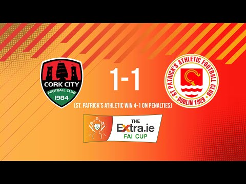 Extra.ie FAI Cup Second Round: Cork City 1-1 St. Patrick's Athletic - St. Pat's win 4-1 on penalties
