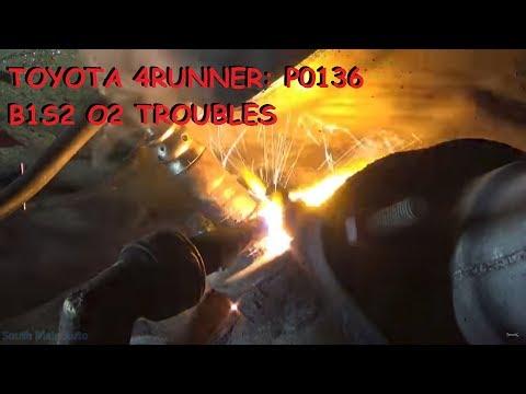 Toyota 4Runner 3.4 - P0136 O2 Sensor Malfunction Bank 1 Sensor 2