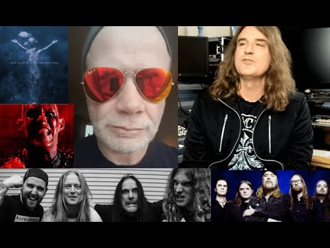 Megadeth's Dave Mustaine replacing Ellefson's bass on new album - new Carcass - new At The Gates!