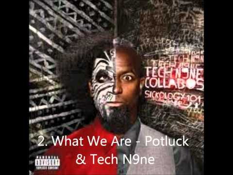 Tech N9ne 3 FASTEST Raps EVER Verses and Flows