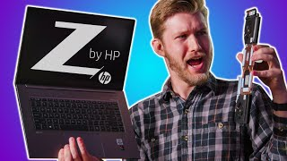 Why do gamers ALWAYS get the cool stuff? - HP ZBook Create G7 Laptop