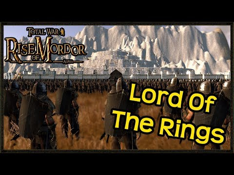 Grand Siege Of Minas Tirith - Lord Of the Rings - Rise Of Mordor Total War