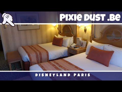 Disneyland Hotel STANDARD ROOM Tour   Disneyland Paris
