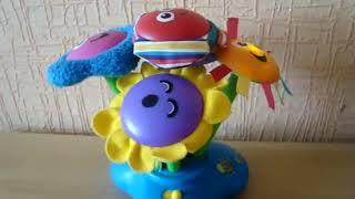 """Видео обзоры игрушек - Музыкальная игрушка """" Букет цветов""""  Lamaze Chime Garden"""