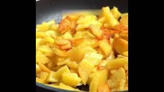 как правильно пожарить очень вкусную картошку лёгкие рецепты простые рецепты короткое видео