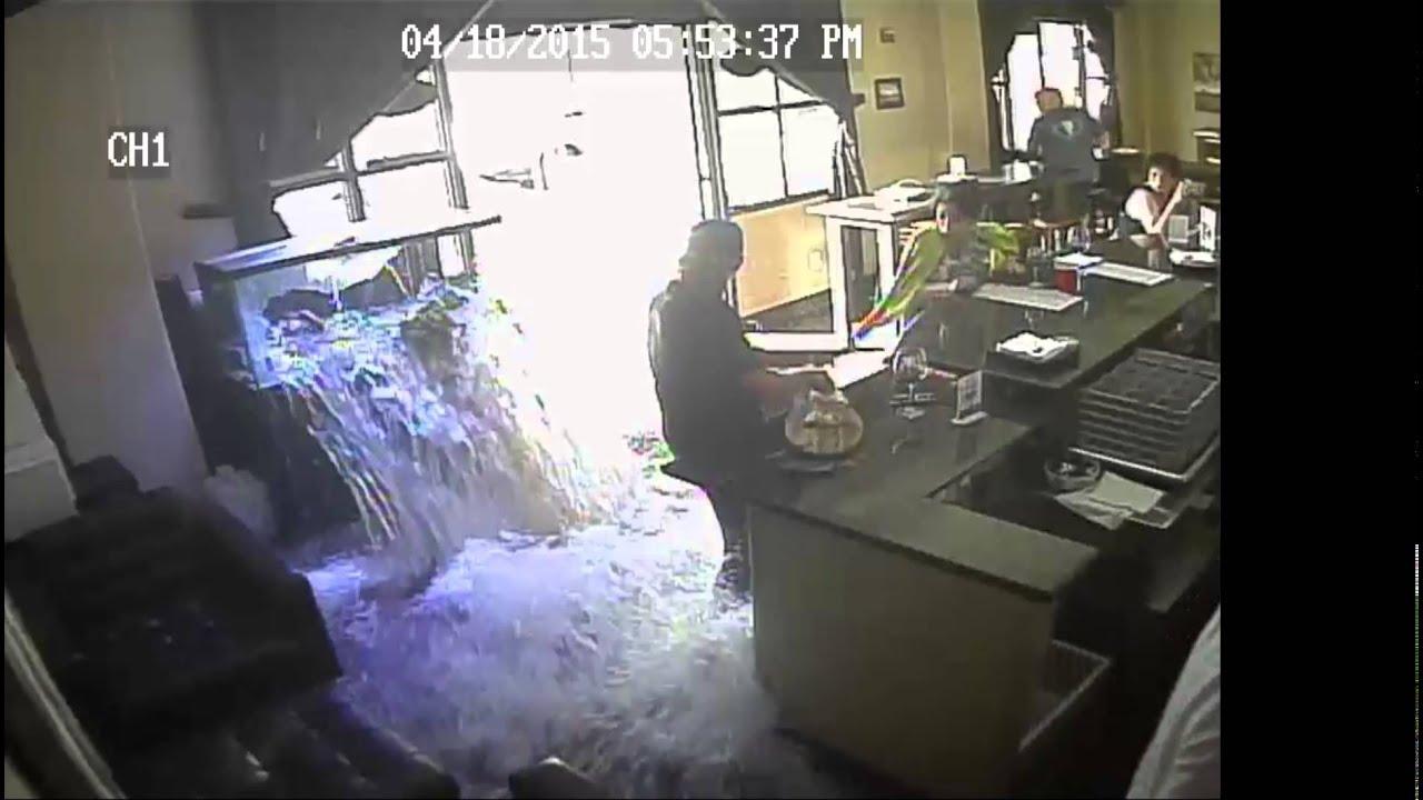 Tlwb707 saltwater aquarium explodes at the loft wine bar for Benicia fishing report