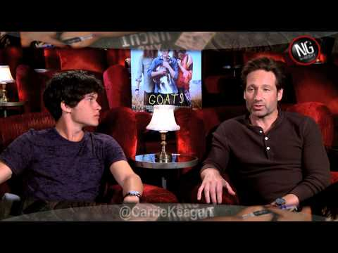 David Duchovny & Graham Phillips Uncensored on GOATS!