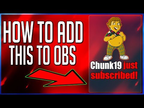 OBS Studio -How To Add Alerts Donation,Subscriber,Sponsor,Follower