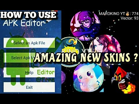 how to use new skin