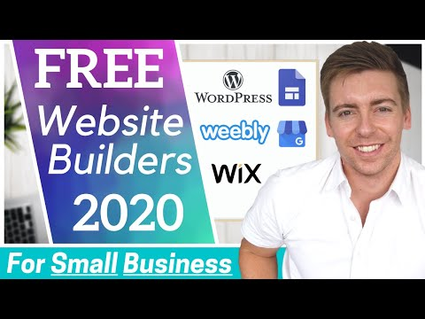 TOP 5 FREE Website Builders for Small Business [2021]