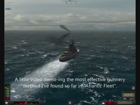Atlantic Fleet gunnery