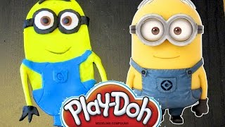 Play Doh Ice Cream Shop And Cake And Cupcakes Minions | Easter Eggs