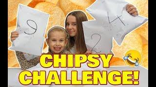 CHIPSY CHALLENGE! z młodszą siostrą   Przegrana = Wyzwanie