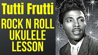 Ukulele Blues Lesson: Little Richard