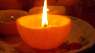 Coffee, Chit Chat and Kitties~DIY Orange Oil  Candles for Autumn/Mabon, Thanksgiving Sacred Spaces Thumbnail