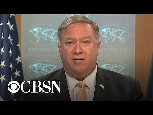Pompeo says U.S. will sanction any country importing oil from Iran