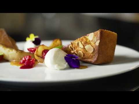 Financier Cake with Butter of Europe by Chef AJ Schaller