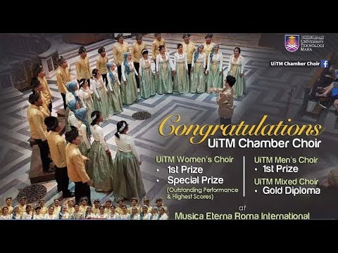 Big win for UiTM at Italy's International Choir Festival