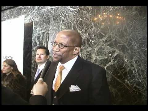 Interview with actor Reg E. Cathey at the Lights Out Premiere
