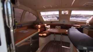 VIDEO 40 Leopard Catamaran