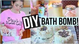 DIY Bath Bomb, Body Scrub & Body Butter! LUSH Inspired!
