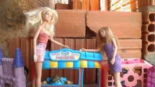 Encontro de Piriguetes! Barbies brigando